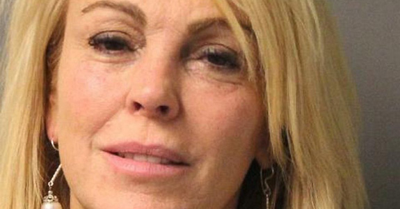Dina Lohan got arrested for drunk driving