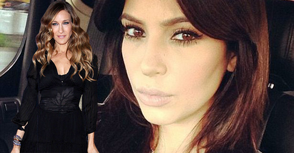Kim Kardashian wants to be Sarah Jessica Parker?