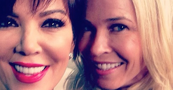 Chelsea Handler to Kris Jenner: Shut your pie hole!