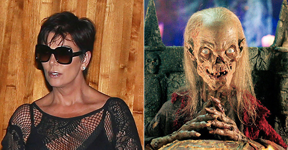 Kris Jenner reminds me of the Crypt Keeper