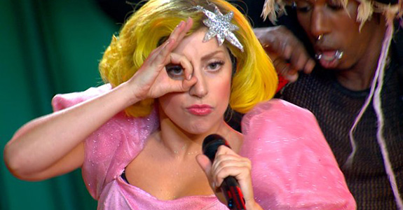 Lady Gaga takes on 'The Wizard of Oz'