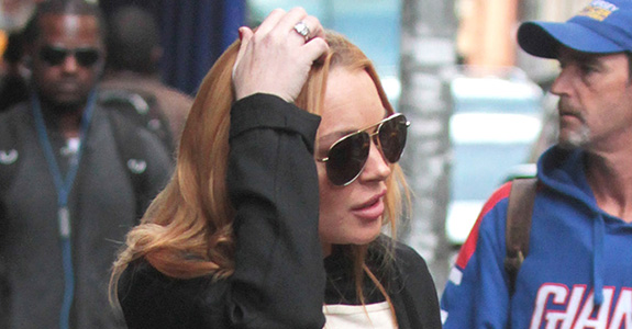 Lindsay Lohan's Parents: Banned from her reality show!