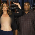 Tina Fey and Kenan Thompson