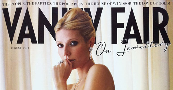 Gwyneth Paltrow isn't pleased with Vanity Fair