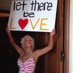 "Christina Aguilera ""Let There Be Love"""