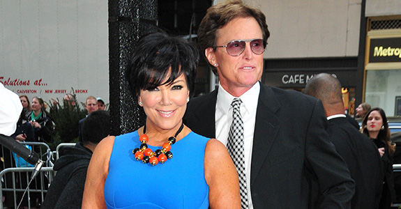 Of course Kris Jenner's split isn't amicable