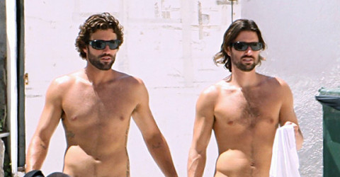 Brody Jenner and Brandon Jenner