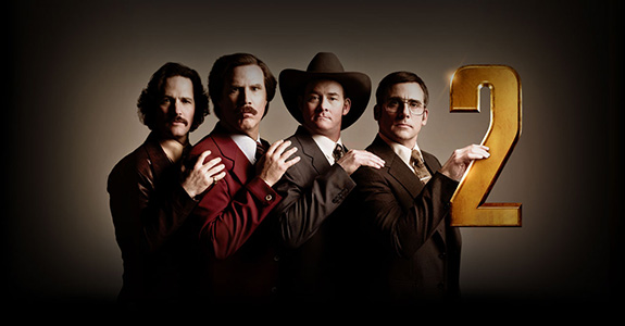 New Trailer: 'Anchorman 2: The Legend Continues'