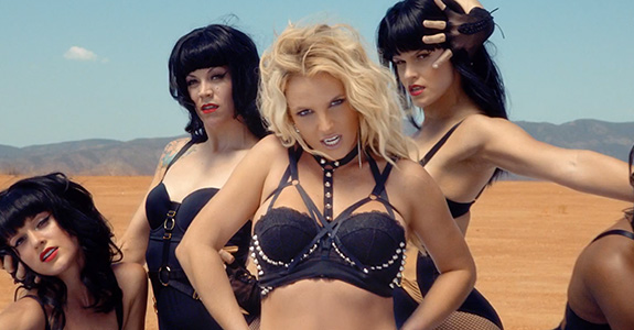 "Britney Spears ""Work Bitch"" Music Video"