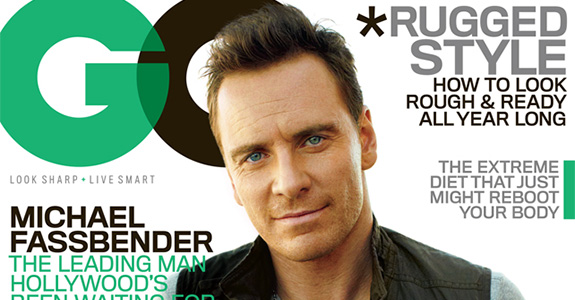 Michael Fassbender covers GQ!
