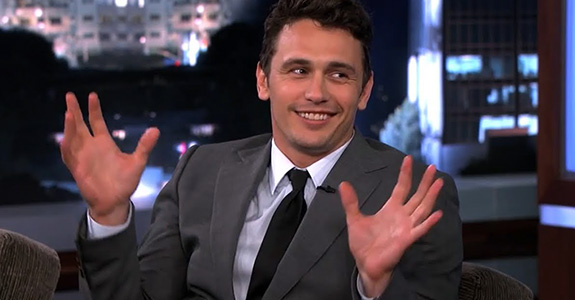 James Franco loves to talk about James Franco!