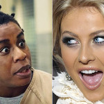 Uzo Aduba and Julianne Hough