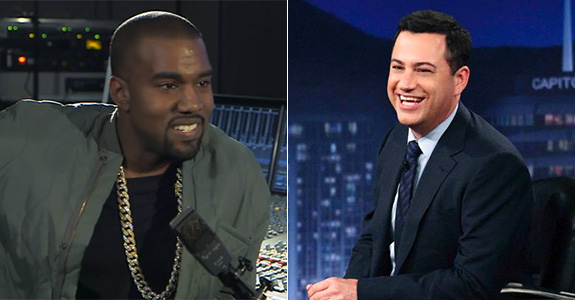 Kanye West will be on 'Jimmy Kimmel Live' tonight!