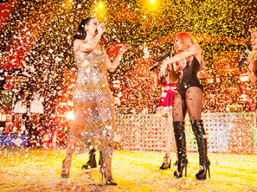 Katy Perry and friends dazzled at the Hollywood Bowl!
