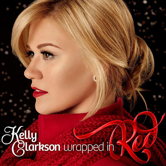 Kelly Clarkson 'Wrapped In Red'