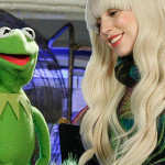 Lady Gaga and Kermit