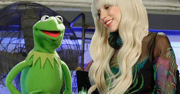 Lady Gaga is doing a holiday special with the Muppets!