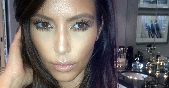 Elephants never forget … to attack Kim Kardashian