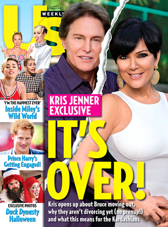 Kris Jenner and Bruce Jenner (Us Weekly)