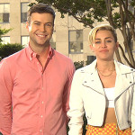 Miley Cyrus and Taran Killam