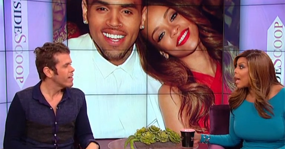 Chris Brown is feuding with Perez Hilton