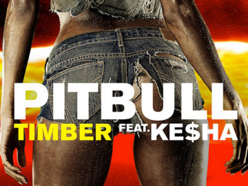 "Ke$ha and Pitbull Team Up On ""Timber"""