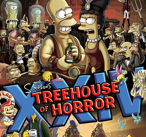 Treehouse of Horror: Guillermo del Toro's Couch Gag