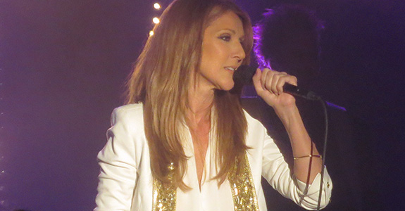 Celine Dion showcases 'Loved Me Back To Life' at intimate NYC concert
