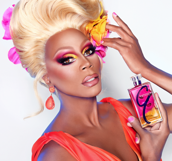 RuPaul launches limited edition makeup / perfume set!