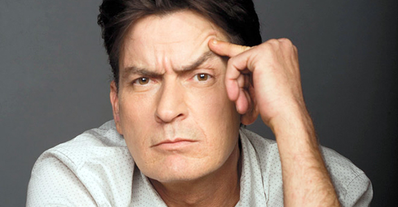 Charlie Sheen, the tiger blood-drinking fighter jet, has returned!