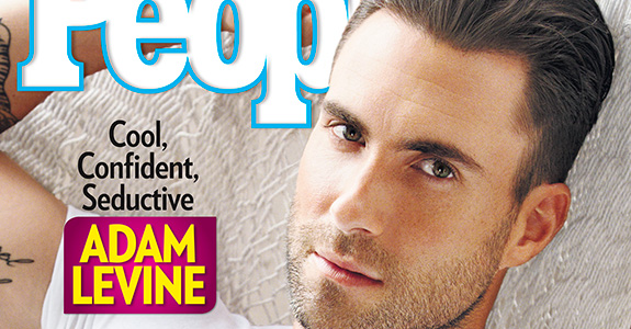 Adam Levine: People's Sexiest Man Alive!