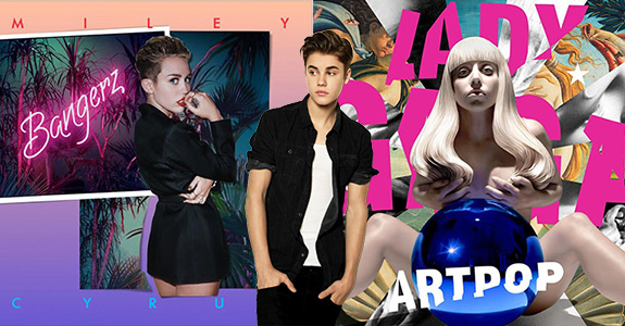 GQ's Least Influential People of 2013 includes Gaga, Miley and Bieber!