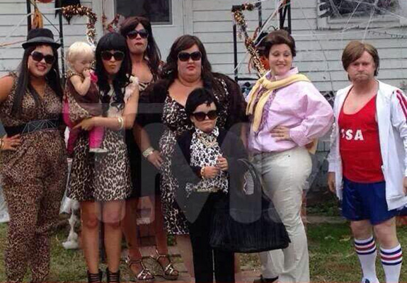 Honey Boo Boo's family as The Kardashians