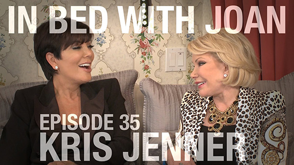 Kris Jenner is full of it on 'In Bed With Joan'