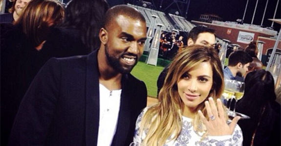 Kris Jenner staged Kimye's engagement for her show
