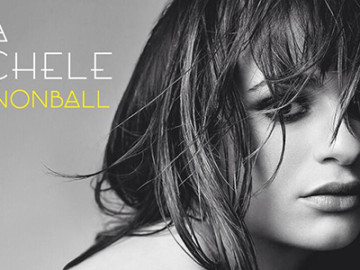 "Get ready for Lea Michele's debut single, ""Cannonball"""