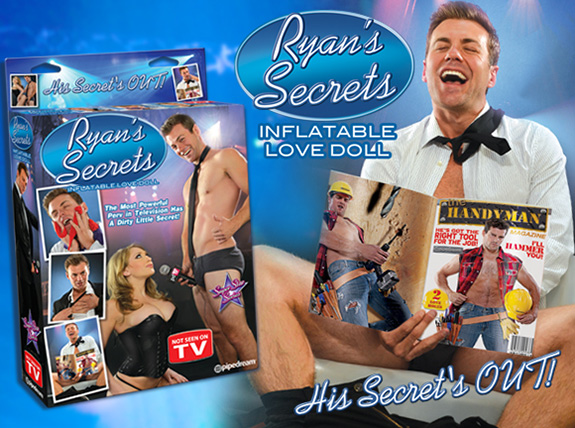 Who wants a Ryan Seacrest inflatable sex doll?