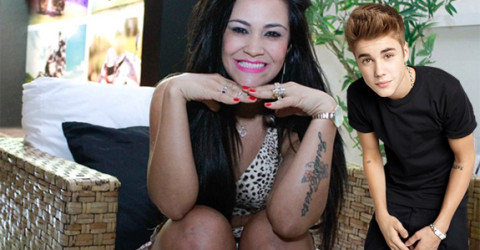 Tati Neves and Justin Bieber