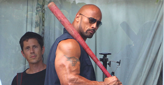 Dwayne Johnson: The top-grossing actor of 2013!