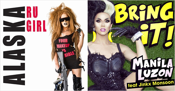 New videos from Manila Luzon, Jinkx Monsoon and Alaska!