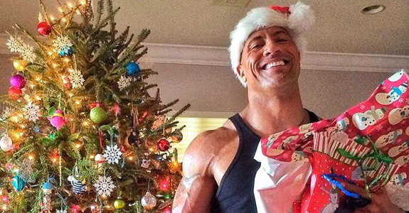 Dwayne Johnson was the best Santa!