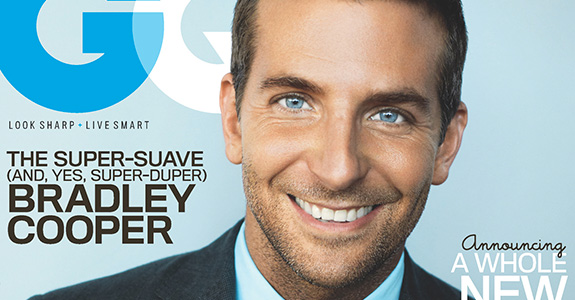 Cutie Bradley Cooper covers GQ