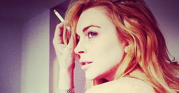 Lindsay Lohan: Ready for a book–wants J.K. Rowling to pen it?