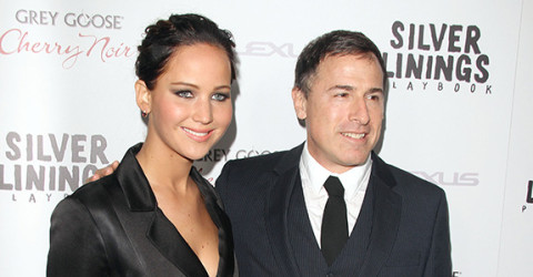 David O. Russell and Jennifer Lawrence