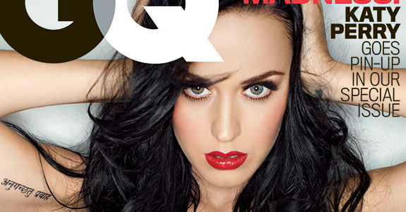 Katy Perry grew her boobs through prayer?