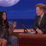 Gabrielle Union and Conan O'Brien