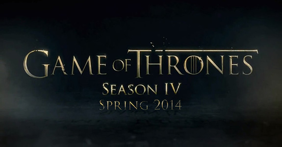 It's the trailer for 'Game Of Thrones' S4!