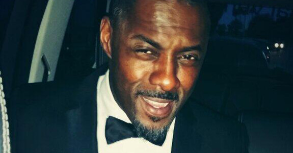 Idris Elba really, REALLY likes his bowtie