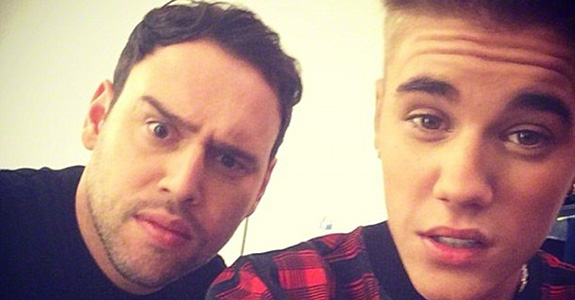 Lil' Wayne is threatening Justin Bieber's manager
