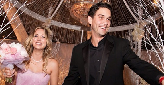 Kaley Cuoco got married to Ryan Sweeting